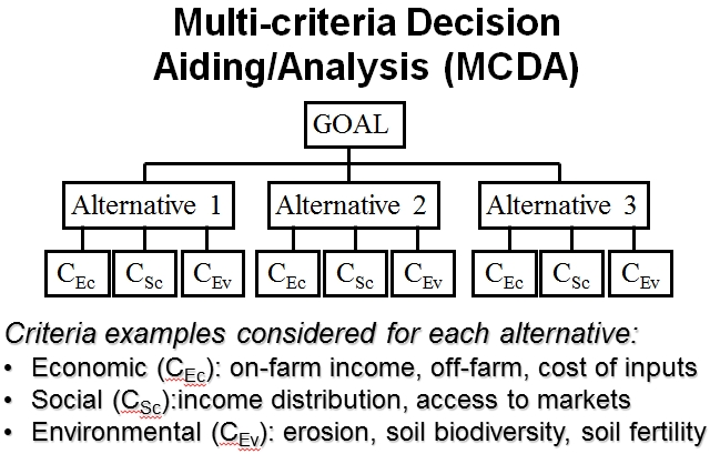 Multicriteria Decision Analysis  Aiding Mcda  Tools For